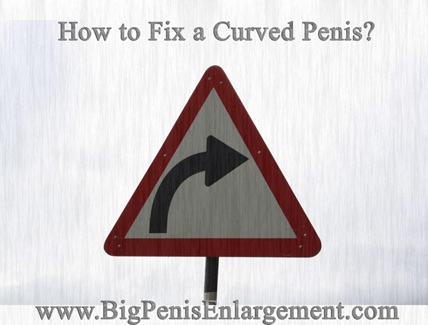 How to Fix a Curved Penis